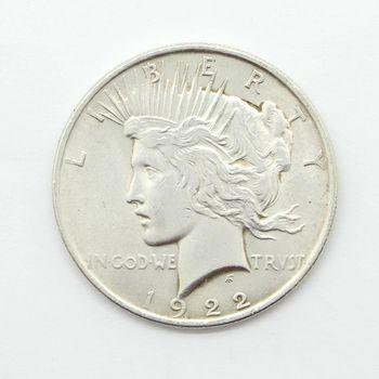 1922 Silver Peace Dollar VF