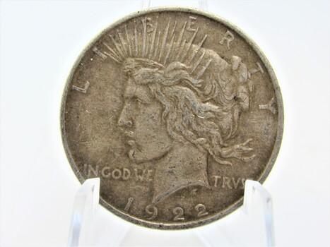 1922-D Silver Peace Dollar  (071)