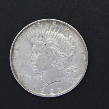 1922-D Silver Peace Dollar Cull (a)