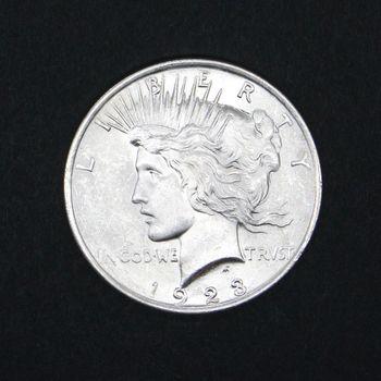 1923 Peace Dollar BU