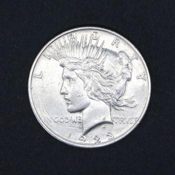 1923 Peace Dollar F+