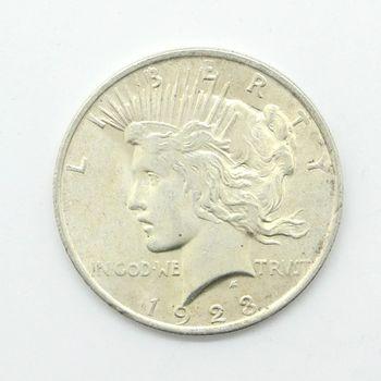 1923 Silver Peace Dollar Fine +