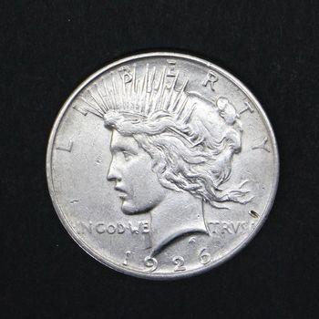 1926 Peace Dollar F+