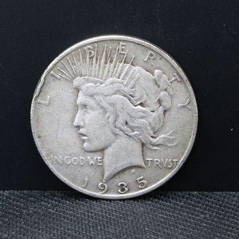 1935 $1 Peace Cull