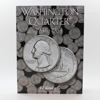 1948 - 1964 Washington Quarter Collection Trifold Coin Folder (2689)