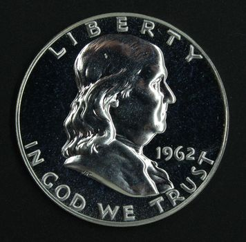 1962-P Franklin Half Dollar Gem Proof