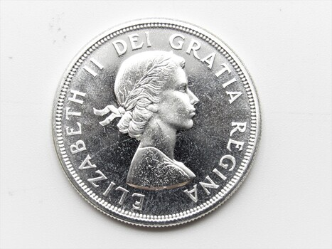 1964 $1 Canadian Coin Charlottetown Quebec Proof