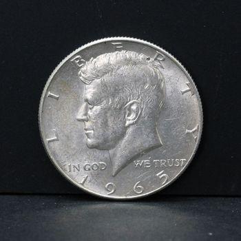 1965 Kennedy Half Dollar VG/VF