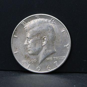 1967 Kennedy Half Dollar VG/VF
