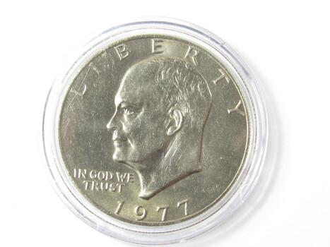 1977-P Eisenhower Dollar (93)