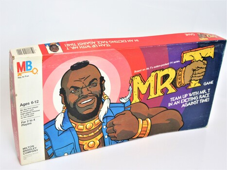 1980s Vintage Board Game Mr. T Milton Bradley