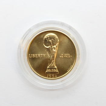 1994-W Gold $5 USA World Cup Commemorative Coin (13)