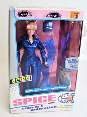 1998 Spice Girl Baby Spice Concert Collection in Original Box Mattel