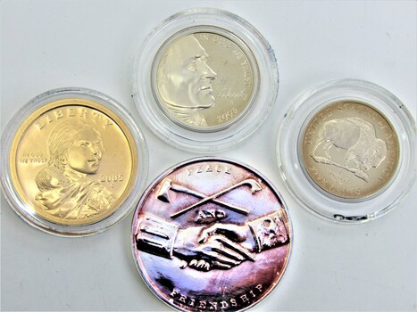 2005 Westward Journey Nickel Series 4pc Coin Set With Box & COA