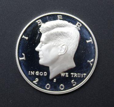 2005-S Silver Kennedy Half Dollar Proof