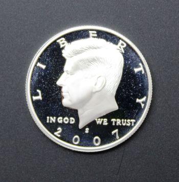 2007-S Silver Kennedy Half Dollar Proof