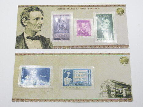 2009 US Commemorative Lincoln Stamps (092)