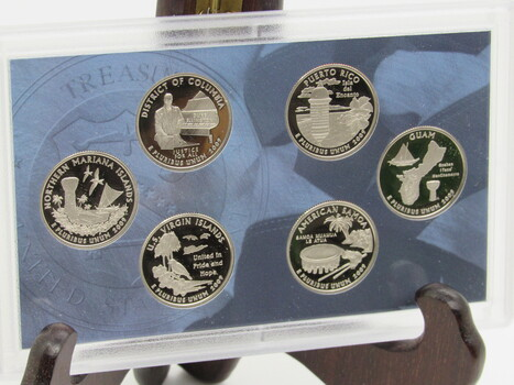 2009 US Mint Proof Set District of Columbia & US Territories