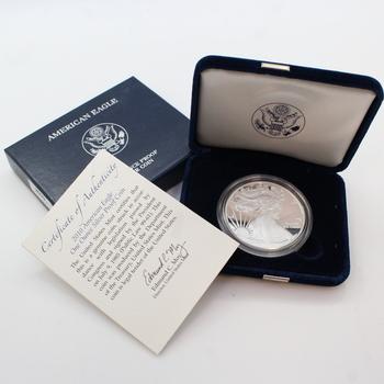 2010 Silver American Eagle 1 oz. Proof Coin
