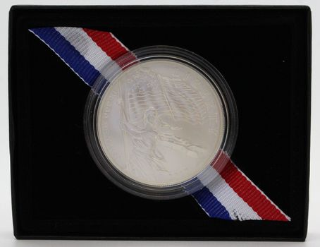 2012 Star-Spangled Banner Comm. Coin Unc. Silver Dollar