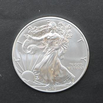 2015 1oz. Fine Silver Eagle Dollar
