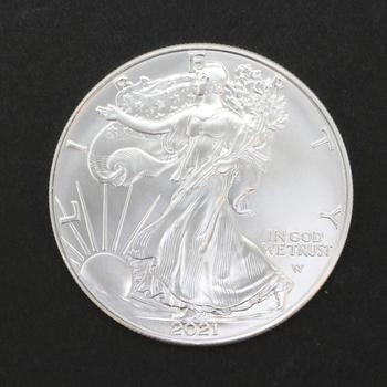 2021-W Type 2 1oz. Fine Silver Eagle Dollar