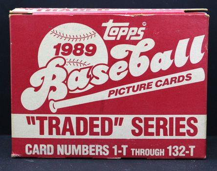 """1989 Topps """"Traded Series"""" Baseball Cards #1-T - 132-T"""
