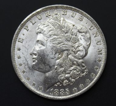 BU 1885-O Silver Morgan Dollar