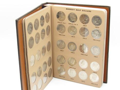BULK Lot of Coins 1964-2012 J.F Kennedy Dollar Album Proofs (Missing 2010 Proof)