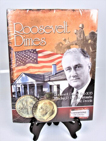 Franklin Delano Roosevelt Dimes Case for Years 1946-2013 P's, D's & Mintmarks *CASE ONLY*