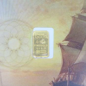 KaratPay 0.10g Fine Gold 999.9 Karatbar