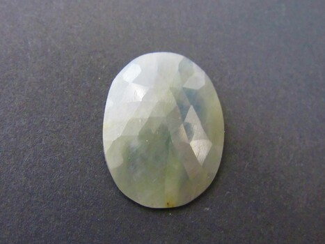 Loose Stone Faceted Green Quartz Cabochon Untested