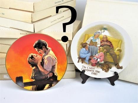 Randomly Selected Mystery Collectible Plate with COA! Lenox, Disney, Reco & More!