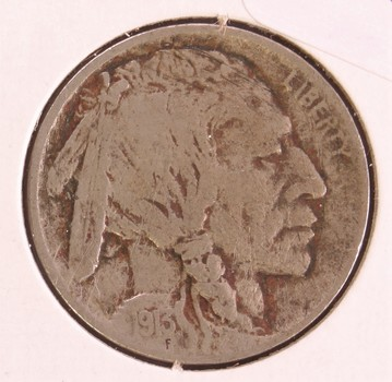 1913 US Buffalo Nickel 5c