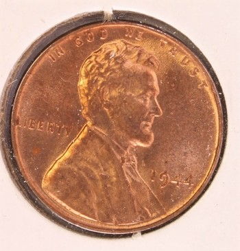 1944 US Lincoln Wheat Cent 1c