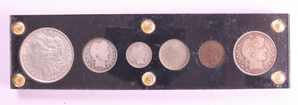 1903 Complete US Coin Set