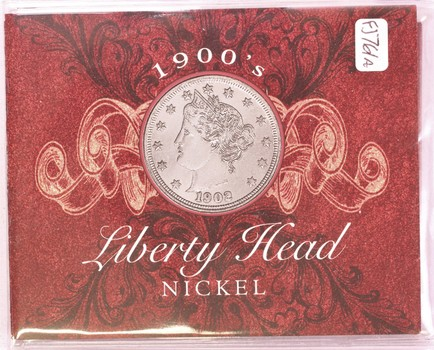 1901 US Liberty Head Nickel 5c