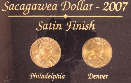 2007 US Sacagawea Dollars $1 Westward Journey Commemoratives
