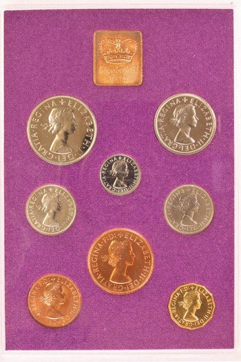 1970 Royal Mint PROOF Coinage of Great Britain and Northern Ireland