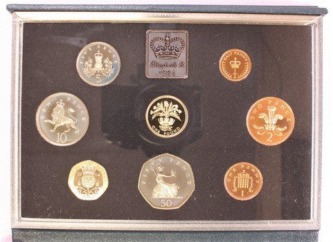1984 UK Royal Mint Proof Coin Collection