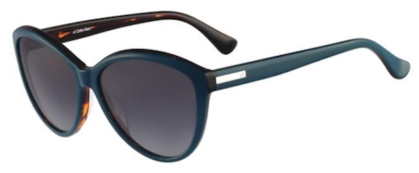 Calvin Klein CK4256S-345 Blue/Havana Fashion Sunglasses