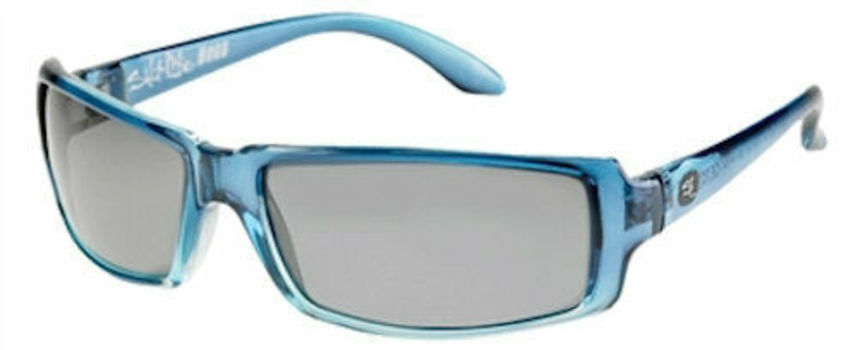 "SALT LIFE  ""BOCA"" POLARIZED Crystal Blue/Smoke SPORT OPTICS with LENSES by ZEISS"