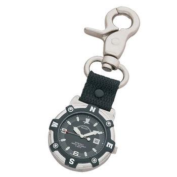 Field & Stream Unisex Adventurer Black Nylon Bottle Opener Pocket Watch
