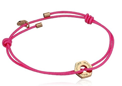 Marc By Marc Jacobs Bolt Friendship Stretch Bracelet - Knockout Pink