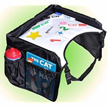 Star Kids Snack & Play Travel Tray 2.0 - Black