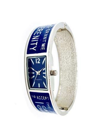 Avon Women's Signature Collection Serenity Prayer Cuff Bracelet Watch
