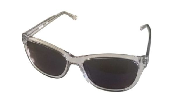 Kenneth Cole KC1267 026X Clear Square Translucent Sunglasses