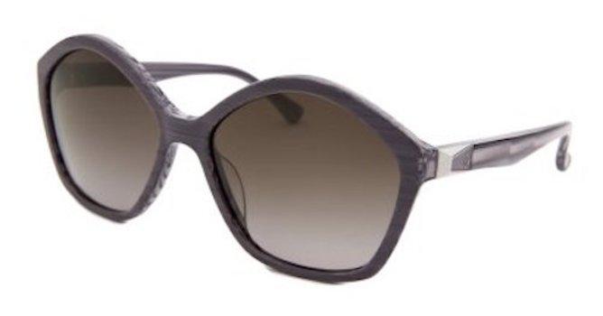 Calvin Klein CK4284S-332 Grey Oversized Sunglasses