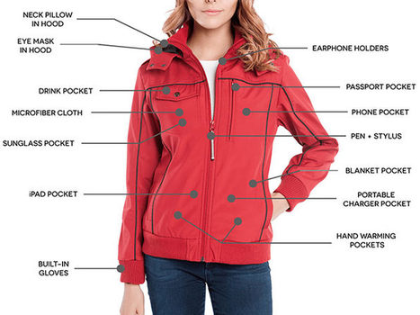 BAUBAX Women's Red Bomber Jacket - Size Medium