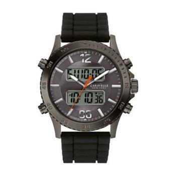 Caravelle New York by Bulova 45B132 Mens's Digital & Analog Quartz Watch